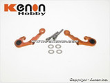 PN MR03 - Alu Adjust. Caster Upper Arm 1 Camber / orange