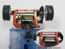 PN Alu-Motorhalter / 94-98mm / V3! LCG MM / blau - MR2295V3-B