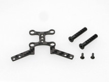 PN PAN CAR / PN Racing Mini-Z Lexan Pan Car Body Post Carbon Plate Kit 001