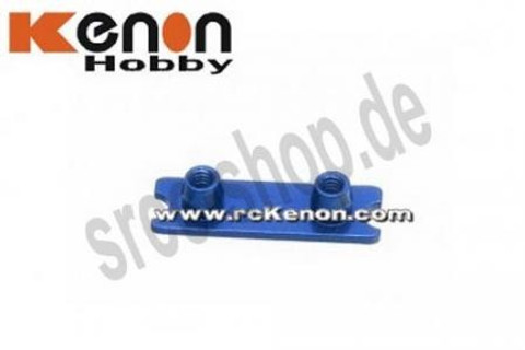 PN / MR-03 / Front Spring Holder (Wide) / Federhalter / BLAU