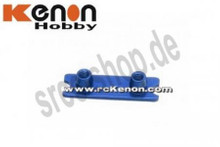 PN / MR-03 / Front Spring Holder (Wide) / Federhalter / BLAU 001