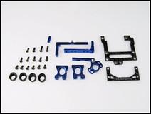 PN Alu-Motorhalter / V5 / 94mm Reconfigurable Carbon Fiber Motormount / BLAU 001