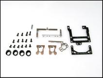 PN Alu-Motorhalter / V5 / 94mm Reconfigurable Carbon Fiber Motor Silber 001