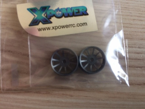 *XP / dNaNo / RW SunSpoke / 19 FA  / gun metal / 2St. / XP-D10