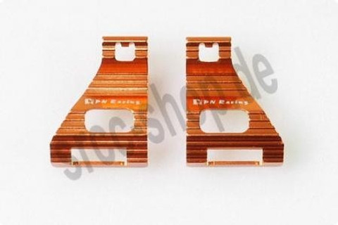PN / MR03 Alm Battery Cover Heatsink (Orange) - Akkuhalter
