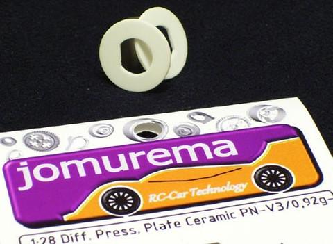 JOM / Differenzial  Diff. Press. Plate Ceramic ID-8,2/0,76g - JOM28000