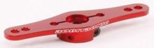 R17019R / Aluminium Servo Doppel Arm 25Z (1-Ebene) Rot 001
