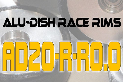 AD20-R-R0.0 / AD20-R-R0.0 - REAR - ALUMINIUM-DISH RACE RIM in 20mm