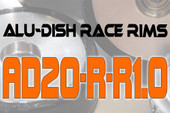 AD20-R-R1.0 - REAR - ALUMINIUM-DISH RACE RIM in 20mm