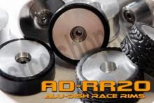 AD21-B-F2.0 - FRONT - ALUMINIUM-DISH RACE RIM in 21mm