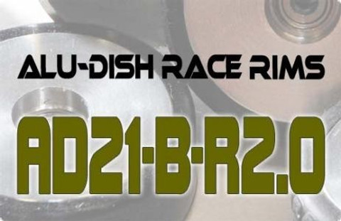 AD21-B-R2.0 - BACK - ALUMINIUM-DISH RACE RIM in 21mm