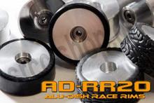 AD21-B-R1.0 - BACK - ALUMINIUM-DISH RACE RIM in 21mm