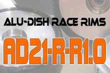 AD21-R-R1.0 - BACK - ALUMINIUM-DISH RACE RIM in 21mm
