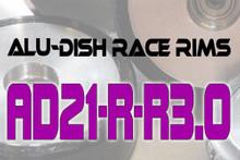 AD21-R-R3.0 - BACK - ALUMINIUM-DISH RACE RIM in 21mm