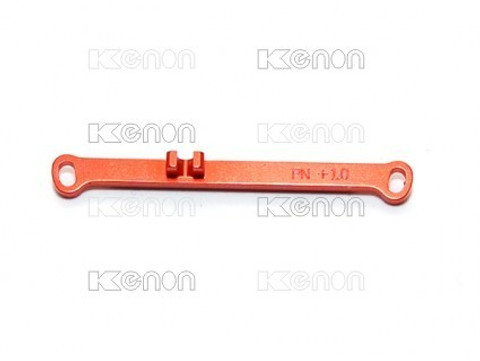 PN MR02 Alu Lenkstange / -1 / Toe Out Tie Rod / ORANGE