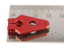 """Servo Arm FUTABA 0.75"""" / ca. 1,9cm / #2-56 / Aluminium / ROT"""
