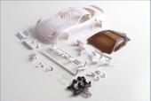 Mini-Z / KYOSHO / Karosserie#1:24 599XX. o. L. / 98mm / MM / W / white Body zum selber lackieren / Bausatz