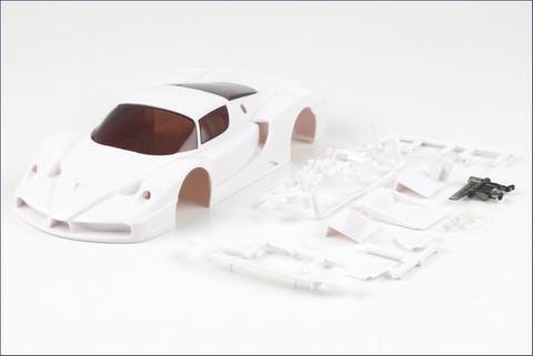 Mini-Z / KYOSHO / Karosserie#1:24 Ferrari FXX Whit Body Set / white Body zum selber lackieren / Bausatz