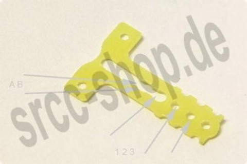 m.e. / T-BAR einstellbar / RM +1 / MR03 / T-Plate