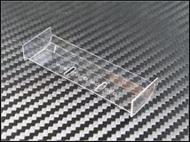 PN Racing Mini-Z Flexible Lexan Rear Wing / Spoiler / transparent / biegsam 001