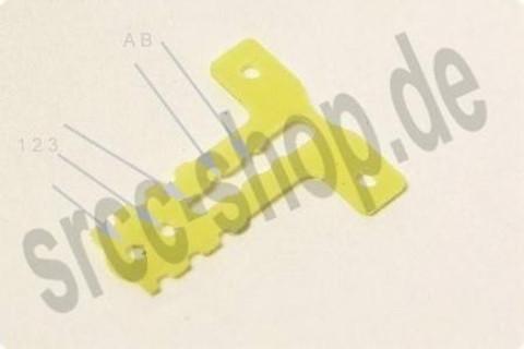 m.e. / T-BAR einstellbar / MM +1mm / MR03 / T-Plate / GFK Competition - 3er Set!!