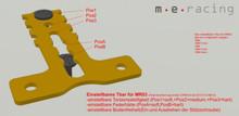 m.e. / T-BAR einstellbar / RM +1mm / MR03 / T-Plate / GFK Competition - 3er Set!! 002