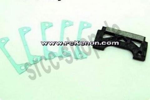 CP326 / PN Carbon Fiber Adapter / Porsche 962C / FRONT / VORNE