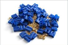 086-1225 / Hype / Stecker / Gold EC3 1 Stck. / bis 60A Dauerlast / blau 001