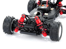 Mini-Z BUGGY! / adjustable coil-over shock conversion kit / Federset - einstellbar 002