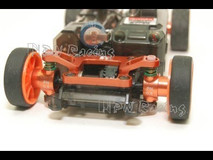 PN / AWD / MA010 Alm 0.75 Camber Knuckle (Orange) / Aluminium Achsschenkel AWD 0,75° orange 002