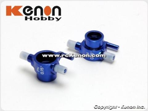 PN / AWD / MA010 Alm 0.75 Camber Knuckle (blue) / Aluminium Achsschenkel AWD 0,75° blau