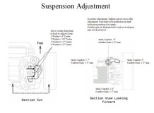 PN / AWD / MA010 A-Arm Front Suspension Kit (Blue) / A-ARM Feder Front - komplettes Set! - blau