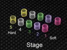 AWD216 / ATM / HP AWD Racing Spring Set (8g /mm step) 001