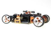 MR2082R2 PN Felge / HINTEN +2 / 2WD Machine Cut 5H Delrin 20mm Wheel Rear 2