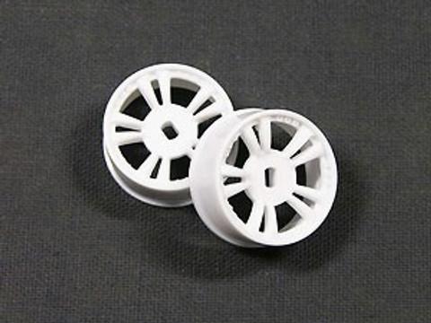 ATM / AWD Mini-Z / AWD T.S Rims Narrow (3.5*) - White / 1Paar! / ABS Kunststoff