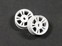 ATM / AWD Mini-Z / AWD T.S Rims Narrow (3.5*) - White / 1Paar! / ABS Kunststoff 001