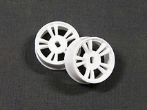 AWD058 / ATM / AWD Mini-Z / AWD T.S Rims Wide (2*) - White / 1Paar! / ABS Kunststoff 001