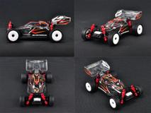 KMB012-BG / ATM / Mini-Z Buggy High Downforce Lexan Body & High-quality ATOMIC sticker / Mini-Z BUGGY 002