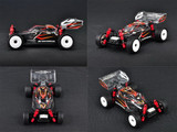 KMB012-BG / ATM / Mini-Z Buggy High Downforce Lexan Body & High-quality ATOMIC sticker / Mini-Z BUGGY