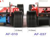 ATM / F1 / Racing Tire Version-II / 10° / Wide - Hinterradarreifen mit Rillen / kantiges breites Profil