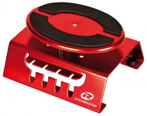 Auto Montagestand 1:8 rot (drehbar & fixierbar)