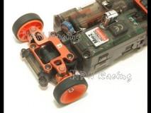 PN / AWD / MA010 Alm 1.0 Camber Knuckle (BLUE) / Aluminium Achsschenkel AWD 1° BLAU