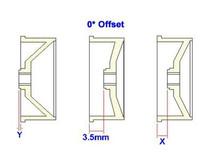 MA0110F05Y / PN / AWD Mini-Z / MA010 Aero Dish Wheel F0,5 Gelb / FRONT /ABS Kunststoff 002