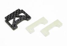PN Carbon Fiber Adapter inkl. 2x Adpaterplättchen / AUDI R8 / FRONT / VORNE CP-419 001