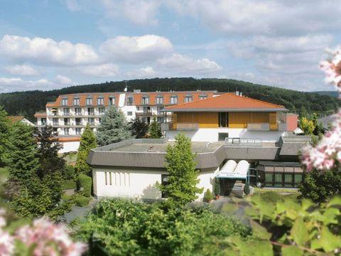 Bad Salzschlirf - 4*Hotel aqualux - 3 Tage für 2 Personen inkl. Frühstück