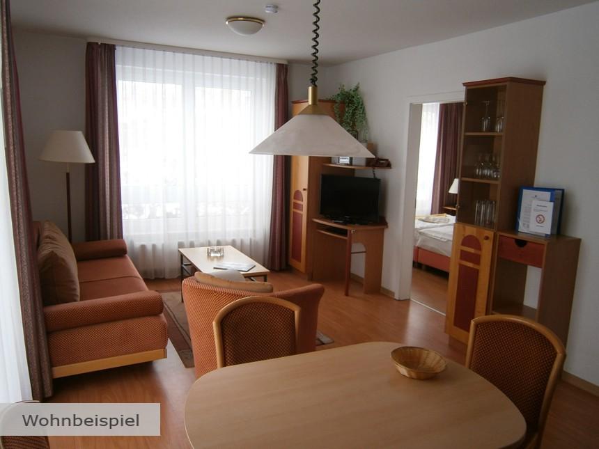 Ostsee - 3*Appartements Binzer Sterne - 8 Tage für Zwei inkl. Frühstück