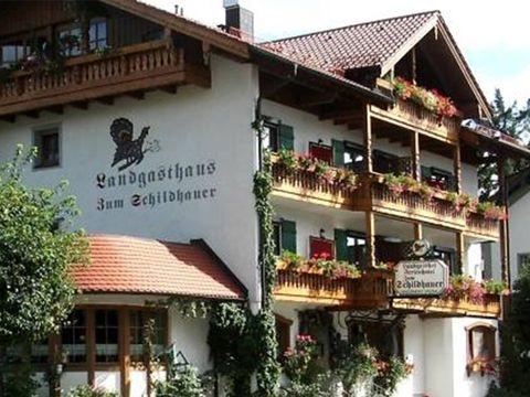 Chiemgau - 3*Hotel Zum Schildhauer - 8 Tage für 2 Personen inkl. Halbpension