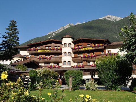 Stubaital - 4*Hotel Burgstall - 6 Tage für 2 Personen inkl. Halbpension