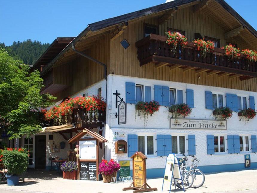Allgäu - 3*Landhotel Zum Franke - 4 Tage für 2 Personen inkl. Frühstück