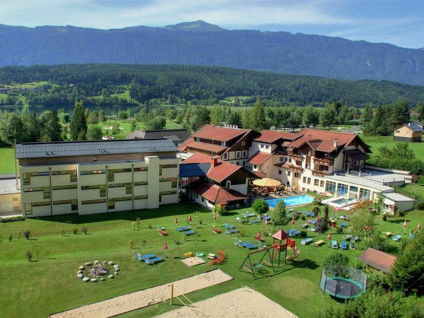 Kärnten - 4*Alpen Adria Hotel - 5 Tage für 2 Personen inkl. Halbpension